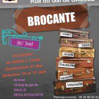 Brocante « Fête du village » 18 juin 2017