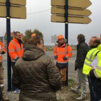 Début des travaux aménagement Pont de Zuydcoote