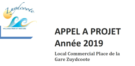 APPEL A PROJET LOCAL COMMERCIAL