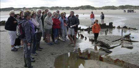 Découverte des épaves de la plage