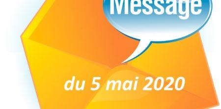 MESSAGE DU MAIRE DU 5 MAI 2020